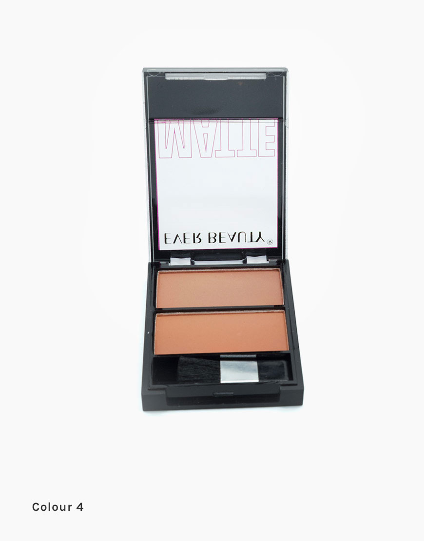 professional makeup kit in 2 colour shades with brush