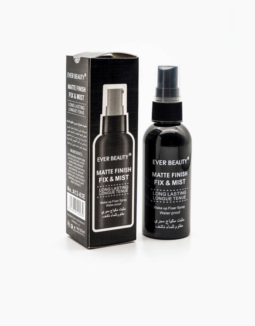 matte finish fix and mist professional spray